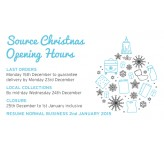 Source Christmas Opening Hours