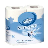 Nicky Soft Touch Toilet Rolls