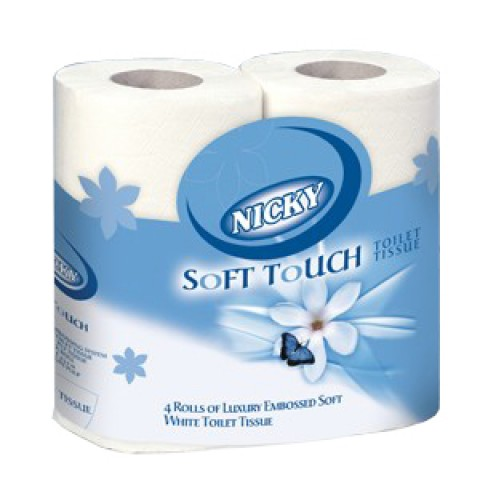 Nicky Soft Touch Toilet Rolls *This product is being discontinued*