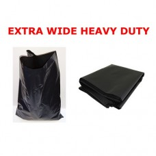 Black Heavy Duty Extra Wide Refuse Sack