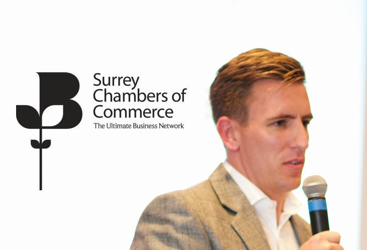 Ollie joins the Council for Surrey Chambers of Commerce.
