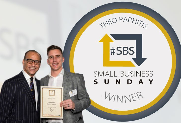Source Supplies wins Theo Pathitis #SBS Twitter competition.